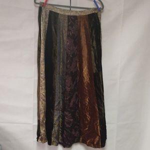 VTG. Anthropologie René Derby Boho Maxi Skirt